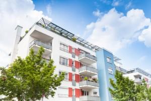 Mehrfamilienhaus in Deutschland - Neubau